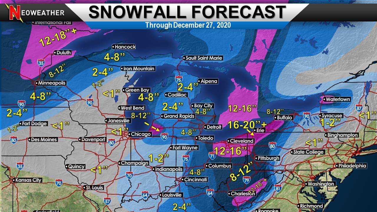 Major Christmas Eve Snow Storm